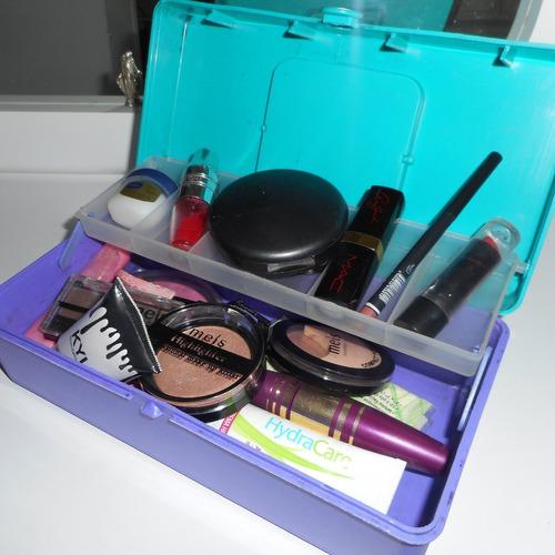 maletín caja organizadora de maquillaje