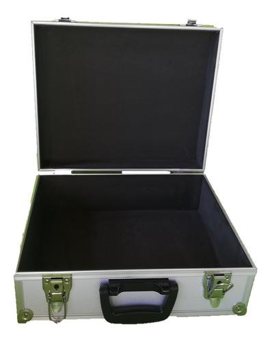 maletin de aluminio 38 con llaves caja herramientas notebook