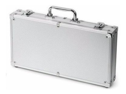 maletin de aluminio de poker 200 fichas barajas dealer ypt