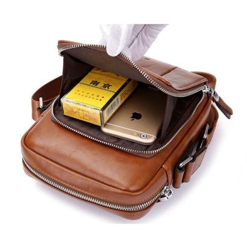 maletín de cuero para hombre 0903