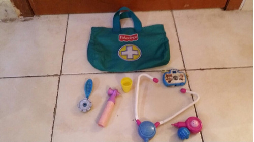 maletin de doctor dr verde fisher price