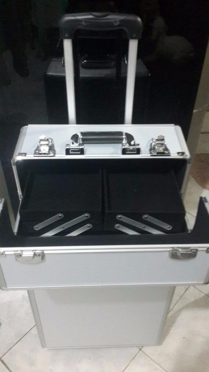 862722174 maletin de maquillaje profesional grande con rueda desmont. Cargando zoom.