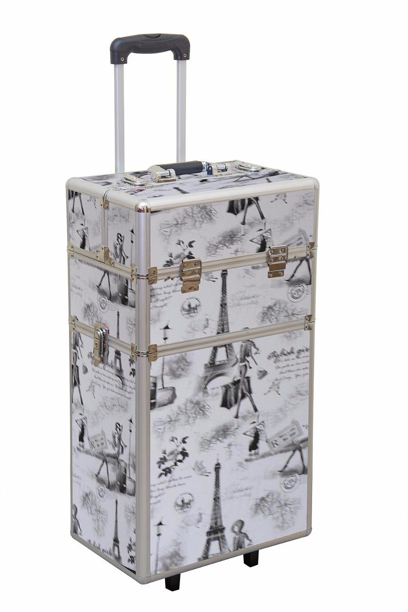 d6eb53e26 maletin de maquillaje profesional grande con rueda desmonta. Cargando zoom.