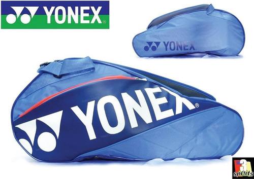 maletín de tenis yonex 6pcs azul