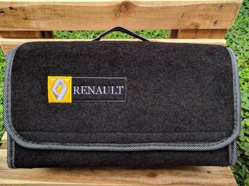 maletin equipo carretera maleta kit renault alfombra carros