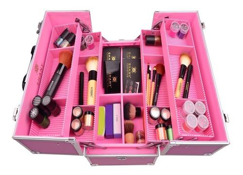 maletin estuche para maquillaje profesional shany (original)