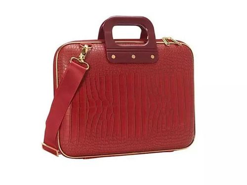 maletin gold medio bombata rojo ba0001-5 laptop 13 pulgadas