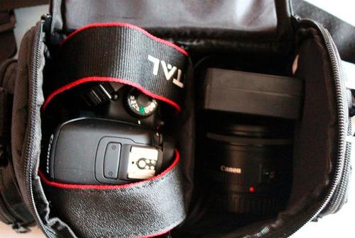maletín grande para cámaras profesionales canon nikon o sony