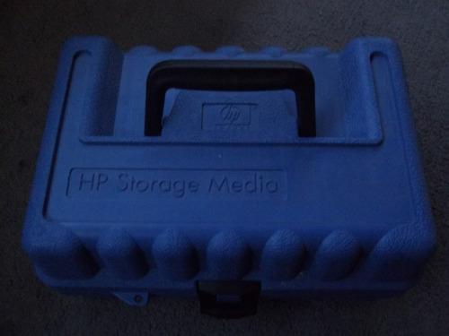 maletín hp de protección transporte para 14 cintas dat dds