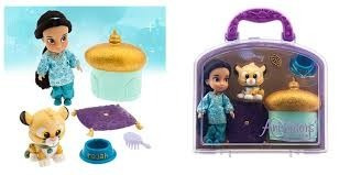 maletin jasmine disney animators jasmin con accesorios mini