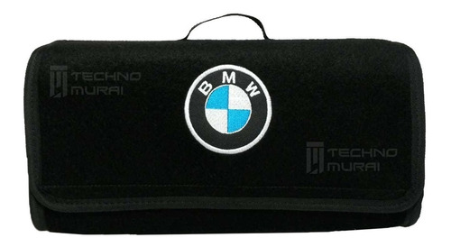 maletin kit carretera con bordado de punto marca bmw