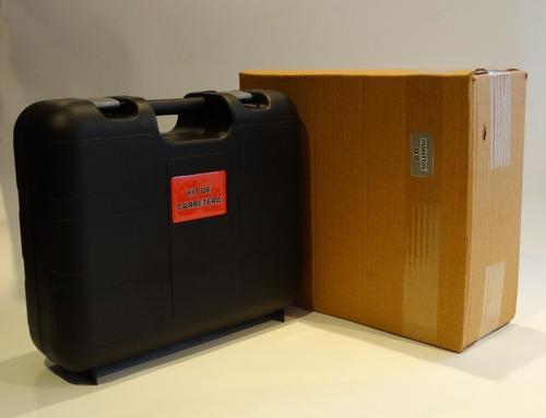 maletin kit de carretera, de lujo para carro