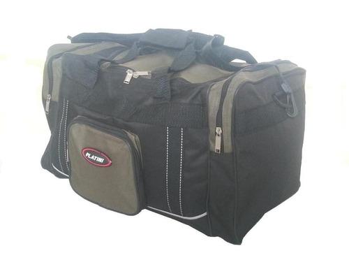 maletin (maleta) de viaje platini original 4 bolsillos
