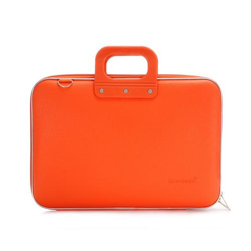 maletin medio bombata naranja e00361-13 laptop 13 pulgadas