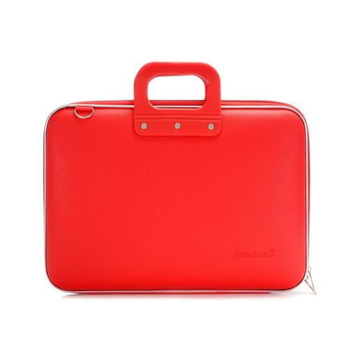 maletin medio bombata rojo e00361-5 laptop 13 pulgadas