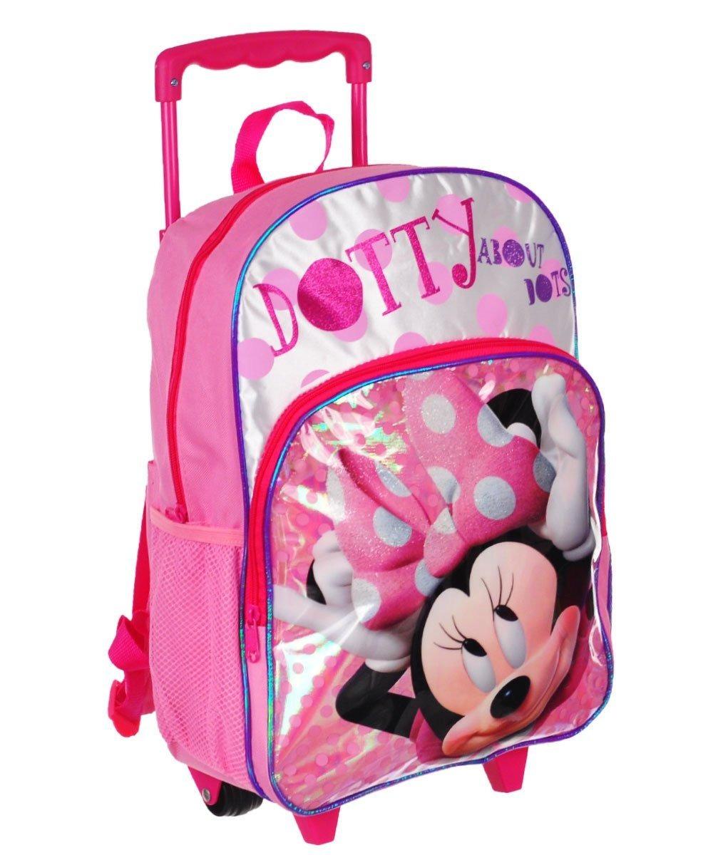 nuevo estilo el precio se mantiene estable Boutique en ligne Maletín Minnie Mouse Niñas Morral Colegio Ruedas Disney