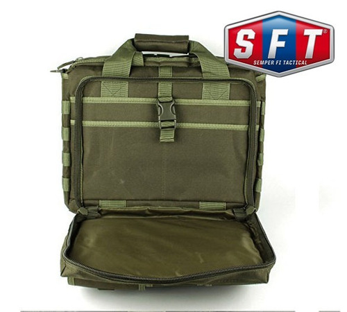 maletin morral tactico tac briefcase verde oliva - s f t®