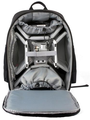 maletín para drone y camara compatible con dji canon syma