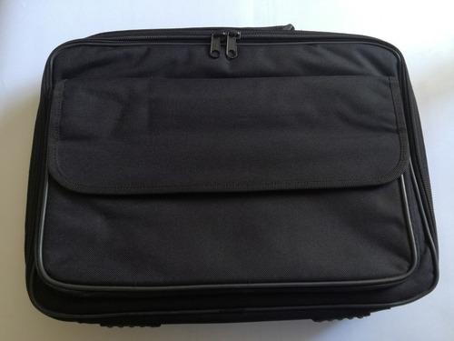 maletin para laptop negro nuevo