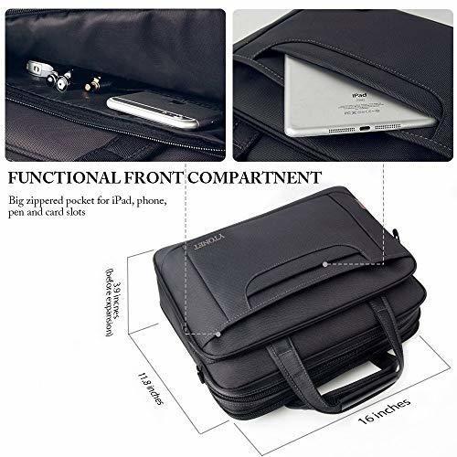 maletin para laptop ytonet, bolso para laptop de 15.6 pulgad