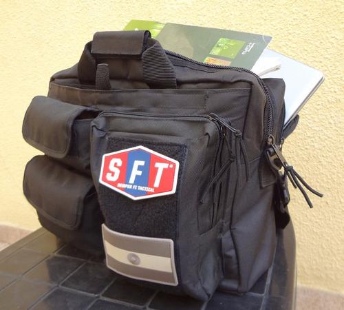 maletín para operaciones tácticas con porta notebook de sft®