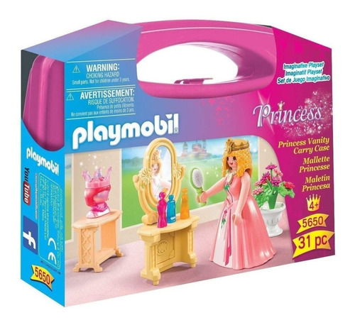 maletín princesa 5650 - playmobil