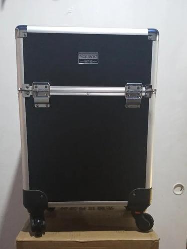 maletin profesional con ruedas para maquillaje