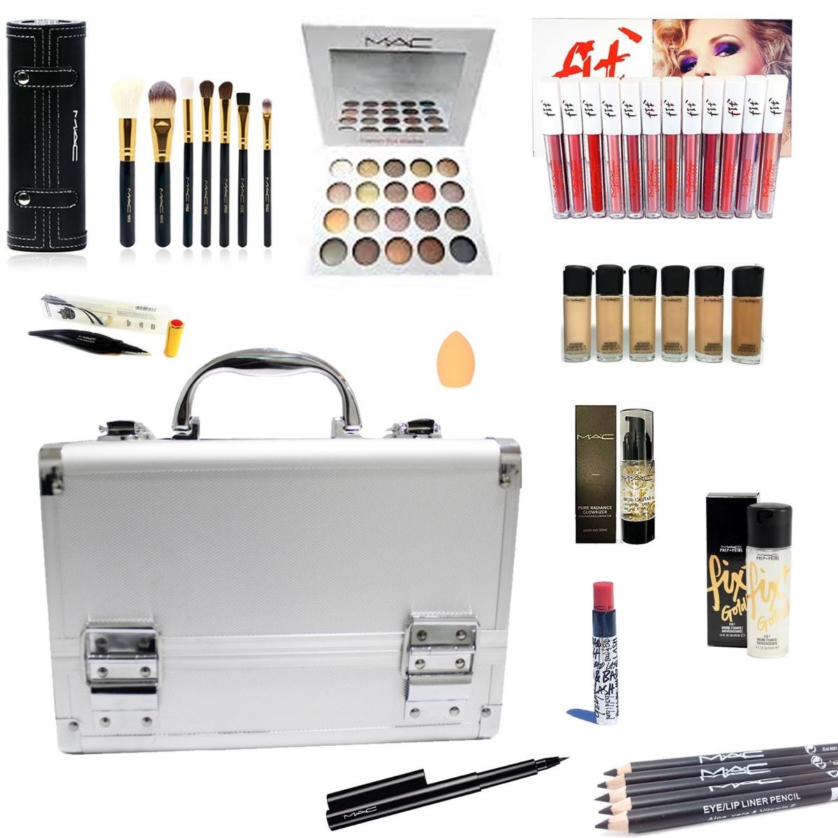 51e091ced Maletín Set Maquillaje Profesional Kit Combo Mac Makeup - $ 9.980,00 ...