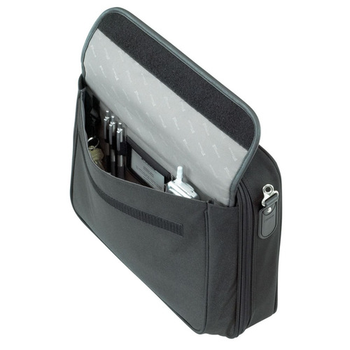 maletín targus traditional notepac, notebook de hasta 15.4