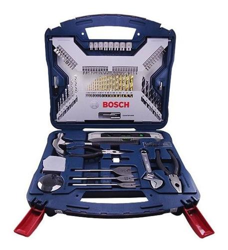 maletín x-line 103pzs taladrar y atornillar bosch