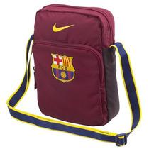 Bolso De Lado Nike Futbol Barcelona Ba4956 Vinotinto