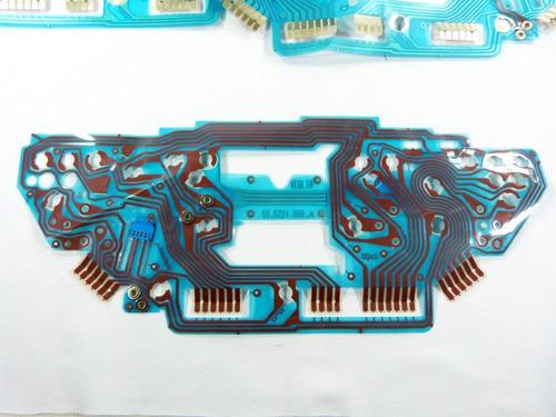 malha eletrica circuito placa painel fiat palio 606224008a