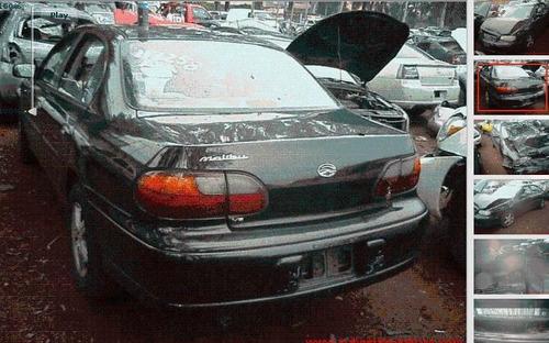malibu 2001 desarmo para refacciones