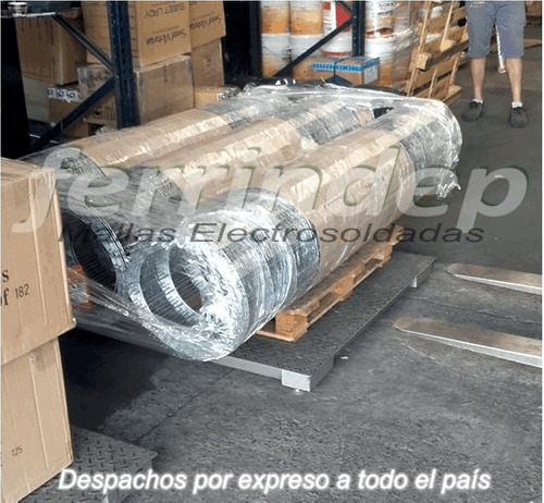 malla alambre cerco electrosoldada 50x150mm 2mt rollo x 6mts