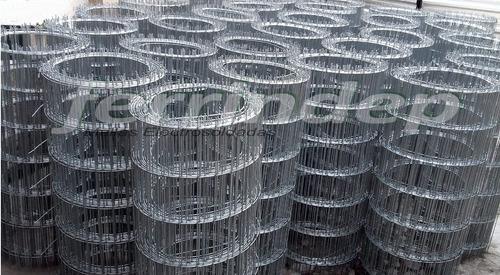 malla alambre cerco galvanizad electrosoldada 50x150mm 1mt