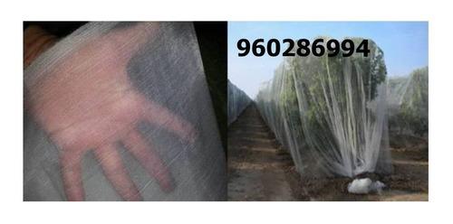 malla antiafida blanco, negro 50 mesh 4 x 100