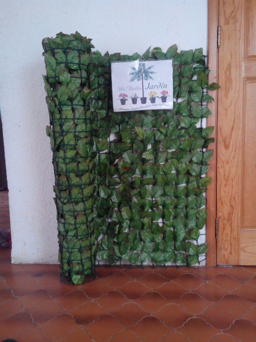 Malla artificial muros verdes 1 en mercado libre for Plantas para muros verdes exteriores