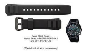 Banda Edifice Reloj Casio Correa Para Pb Malla Efr Orig 515 b76vfgmIYy