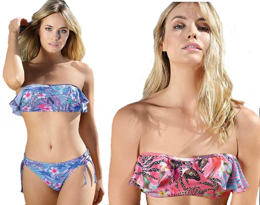 CvoladoVedetina Bikini Bando Malla 3392 Art Marcela Koury fybY76g