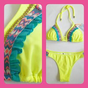 dba3faea037c Malla Bikini Con Bolados Temp. 2019 Excelente Calidad!!