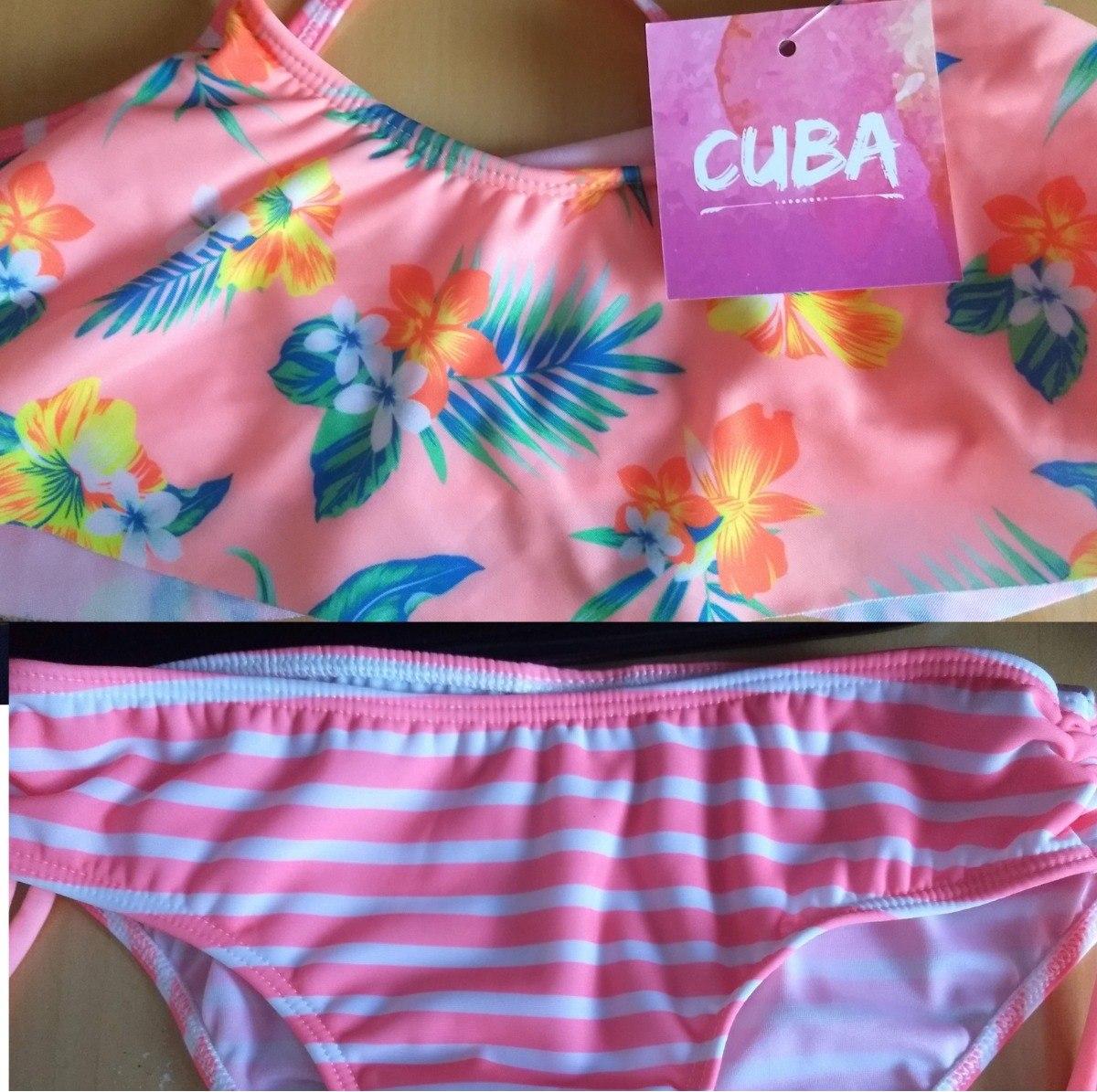 2c61316fd Malla Bikini Nena Voladón Estampado Cuba 6201 -   465