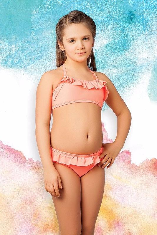 Niña Cocot T81012 12594 Malla Mandarina Cvolados Bikini 0k8nOPw