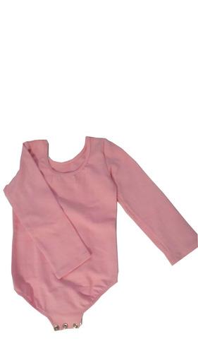 malla body manga larga ballet algodón licrado