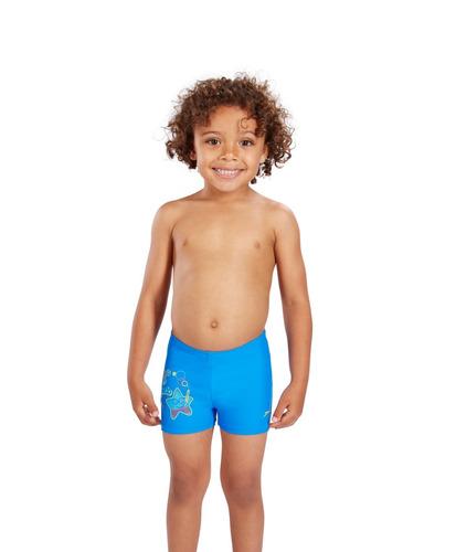 malla boxer speedo infantil sea squad placement 1-6 años