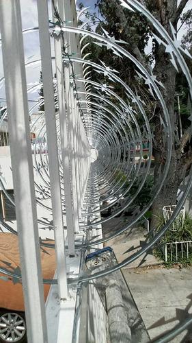 malla ciclonica electrificados concertina cinta follaje art