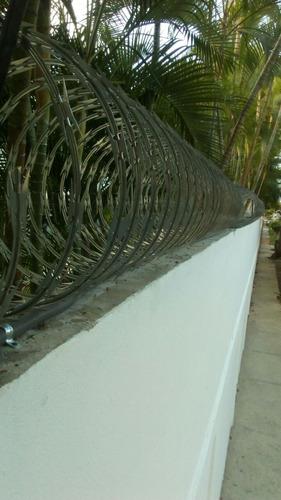 malla ciclonica + instalacion en santo domingo