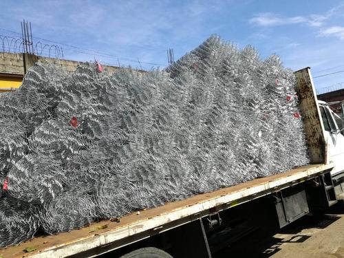 malla ciclonica + instalacion rd
