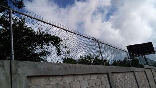 malla ciclonica instalada