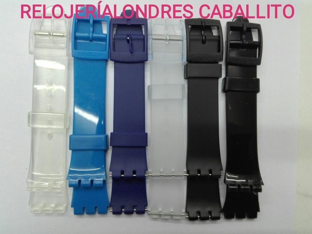 Para Colores 16mm Swatch Caball Alternati Correa Reloj Malla 4j3Aq5RL