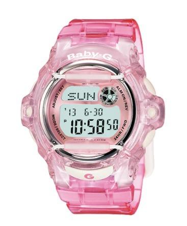 772ba039952a Malla Correa Reloj Casio Baby-g Bg 169 Color Rosa Original -   1.534 ...